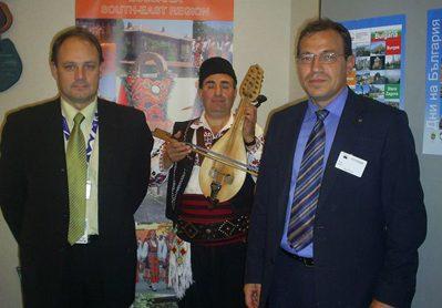 """Община Сливен беше представена като част от Югоизточен регион на България по време на Дните на отворени врати, """"Европейска седмица на регионите и на градовете"""" 2008 г. в Брюксел"""