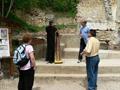 """Председателя на Фондация за развитие на регион Сливен даде началото за възстановяването на църквата """"Свети Георги"""" на Бармук баир над Сливен"""